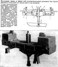Примерная схема и общий вид экспериментальной установки