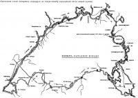 Примерная схема кольцевого маршрута по северо-западу европейской части нашей страны