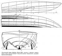 Примерный эскиз обводов «Блегг-480»