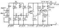 Принципиальная схема электронного тахометра