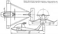 Проект двухместной мотолодки-экранолета с гибким крылом