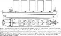 Проект оборудования грузового судна дедвейтом 23 000 т жесткими парусами-крыльями
