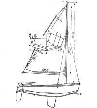 Прототип «Нырка» — швертбот «Карапуз»