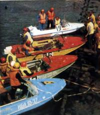 Проверка серийности первых пяти финишировавших лодок