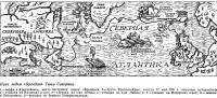 Путь лодки «Брендан» Тима Северина