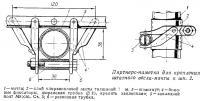 Пяртнерс-наметка для крепления штатного весла-мачты к шп. 2