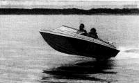 «Радуга-41» выходит на глиссирование