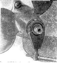 Расположениесъемникана ступице винта