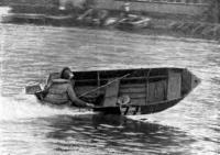 Разборная  «картon»-лодка «Автобот» во время показательных выступлений