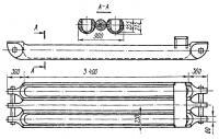 Размеры катамарана сняты с натуры