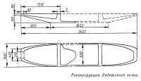 Реконструкция Ладожского челна