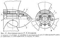 Рис. 11. Конструкция винта Р. П. Соловьева