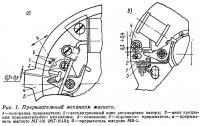 Рис. 1. Прерывательный механизм магнето