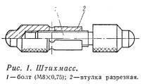 Рис. 1. Штихмасс