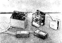 Рис. 2. Конструкция отмашки с питанием от батарей