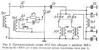 Рис. 2. Принципиальная схема ЭСЗ для «Вихря» с магдино МВ-1