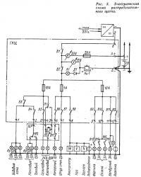 Рис. 3. Электрическая схема распределительного щитка
