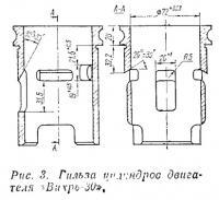 Рис. 3. Гильза цилиндров двигателя «Вихрь-30»