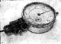 Рис. 4. Индикатор для замера перемещения поршня