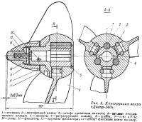 Рис. 4. Конструкция винта «Днепр-240»