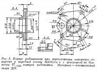 Рис. 5. Корпус подшипника