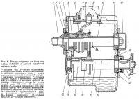 Рис. 6. Реверс-редуктор на базе коробки «ГАЗ-53» с цепной передачей заднего хода