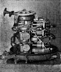 Рис. 6. Вид двигателя сбоку
