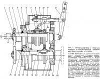 Рис. 7. Реверс-редуктор с использованием готовых шестерен коробки «ГАЗ-53»
