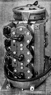 Рис. 7. Вид двигателя сзади