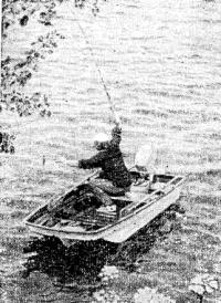 С «Онеги» удобно ловить рыбу