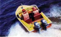 Самая быстроходная на соревнованиях лодка «Нептун-2»