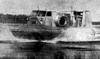 Самоходный амфибийный аппарат «САВР-1М» на испытаниях