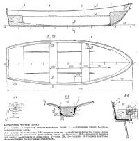 Сборочный чертеж лодки