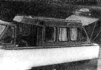 Сдвижная рубка на катере ленинградца П. Комендантова