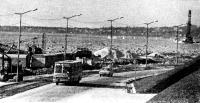 Сегодня на стройке автострады вдоль моря, ведущей к Центру парусного спорта в Пирита