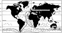 Схема маршрута гонки