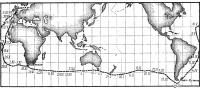 Схема маршрута кругосветного плавания Найоми Джеймс на «Экспресс-крусэйдере»