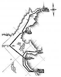 Схема маршрута Кубка Балтики