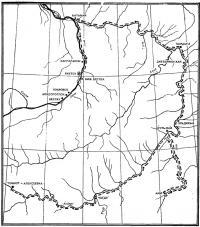 Схема маршрута Томмот — Якутск — Томмот