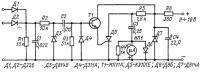 Схема тринисторного тахометра