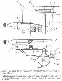 Схема устройства простейшего однорукояточного ДУ