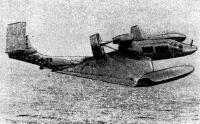 Шестиместный экраноплан А. Липпиша «Х-114» на скорости около 150 км/ч