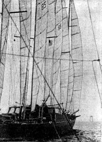Шхуна «Клуб Медитерранэ» выходит в море