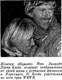 Шкипер «Керамко Нью Зиланд» Питер Блэйк