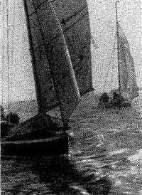 Швертботы выходят в Белое море