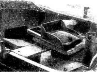 Сиденье гребца на лодке Куинси