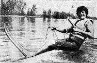 Сильнейшая воднолыжница Европы — Шанталь Эско