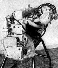 Система электронного впрыска, смонтированная на серийном двигателе ГАЗ-24