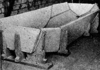 Склеенный корпус на стапеле