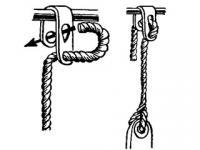 Скоба для подвески кранцев